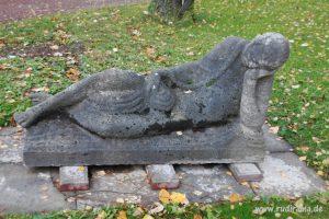 20160729 Statue Friedhof Höchst 01
