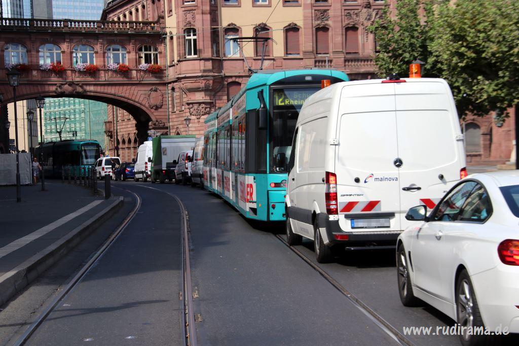 Stau In Frankfurt